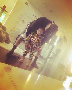 Chris Brown dresses Royalty so cute!