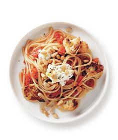 Cauliflower and Ricotta Spaghetti