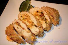 Poitrines de poulet farcies façon jalapeno popper