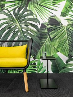 Ghislaine Viñas was tasked with outfitting the modern Manhattan offices of South African advertising firm Barrows in one of Soho's Art Deco buildings.