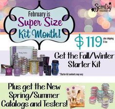 Have you thought about joining Scentsy? Join in February as a consultant & get the enhanced starter kit--more goodies for the same great price! Call me if you have any questions... I'd love to have you on my team! www.jenniferfry.scentsy.ca/Enrollment/Join