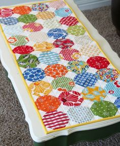 Allison has created another cute classic table runner..