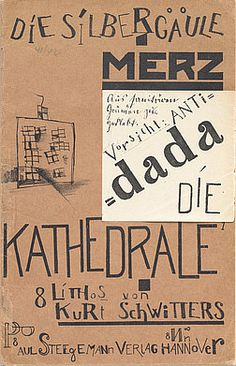 Die kathedrale (1920), designed by Kurt Schwitters