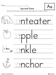 Shapes Line Tracing Prewriting Worksheet in Color | Worksheets ...