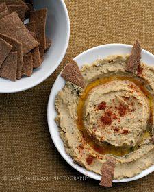 Living Mostly Meatless: Vegan Red Lentil Dip & Rye Crackers