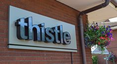 A night at the East Midlands Thistle hotel - look beyond the exterior and location and you'll find an airport hotel way better than a Premier Inn or Travelodge!