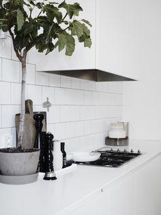 Kitchen inspiration - hvitt.