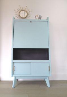 meubles vintage > rangements > secrétaire années 50 : fabuleuse ... - Secretaire Meuble Design