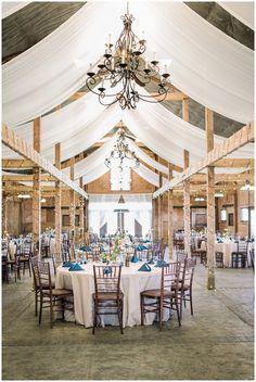 Bluemont Vineyard Barn Wedding Reception // Karyn Johnson Photography