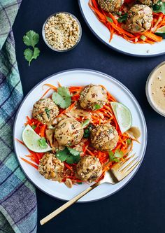 Thai Quinoa Meatballs from Everyday Cooking (vegan, gluten-free) | Making Thyme for Health