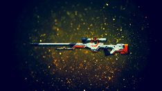 Download AWP Asiimov Sniper Rifle Counter Strike Global Offensive Weapon Skin…