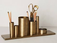 Codify Pencil Holder, $48, anthropologie.com Not everyone would appreciate getting a pencil holder for the holidays, but ultra-together Virgo will surely make good use of this organizational tool. Plus, it'll look terrific on their otherwise spotless desk. #virgo #giftidea #astrology