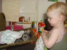 Cat & Baby Love Each Other