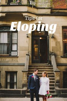 Helpful Elopement Wedding Advice from an Expert | Apartment Therapy