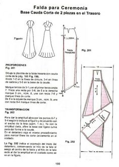 The best DIY projects & DIY ideas and tutorials: sewing, paper craft, DIY. DIY Women's Clothing : sistema C Y C 3 - Laura - Picasa Albums Web -Read Easy Sewing Patterns, Clothing Patterns, Wedding Dress Patterns, Modelista, Costume Patterns, Pattern Cutting, Pattern Drafting, Sewing Techniques, Sewing Clothes