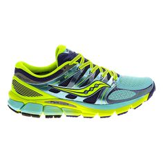 One run and youre sure to become a serious devotee to the new Womens Saucony Zealot ISO running shoe
