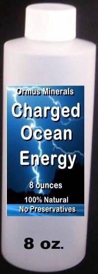 Charged Ocean Energy Liquid Ormus 8 oz