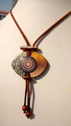 Polymer Clay Necklace Más