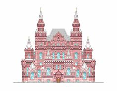 "Check out new work on my @Behance portfolio: ""Moscow State Historical Museum on ""Red"" Square"" http://be.net/gallery/47652455/Moscow-State-Historical-Museum-on-Red-Square"