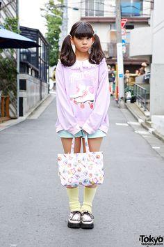 Haruka is a kawaii fashion-loving girl – She is 16 and she's a student.