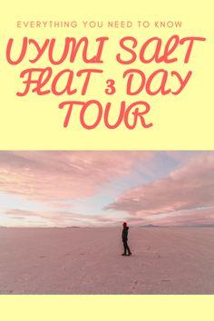 Everything you need to know about the 3 day Bolivia Uyuni Salt Flat Tour #bolivia #uyuni #southamerica #travelguide