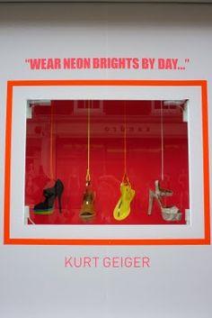 Kurt Geiger Window Display - We love shops and shopping - seanmurrayuk.com & www.facebook.com/shoppedinternational