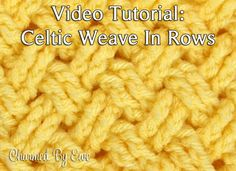 Tutorial: Diagonal Celtic Weave in Rows