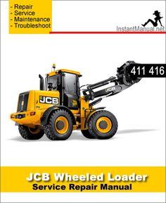 11 best jcb wheel loader shovel service manual pdf images on