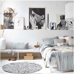 Whether you just moved into your new home or want to give a makeover to your old bedroom, need ideas to make your bedroom design stand out. So you want a modern bedroom but do not know where to sta… Scandinavian Bedroom, Scandinavian Interior Design, Cozy Bedroom, Home Interior, Modern Bedroom, Bedroom Decor, Bedroom Ideas, Headboard Ideas, Bedroom Designs