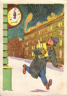 "(""Ленинградский художник"", 1957 год, художник М.Мазрухо,."