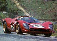 1967, Targa Florio. Piccolo Circuito delle Madonie . Nino Vaccarella driving the amazing Ferrari 330P3-4