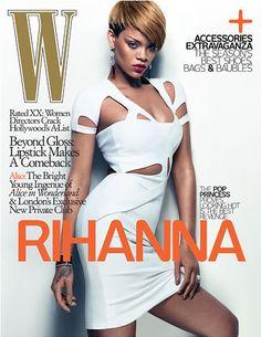 Rihanna W Magazine Cover February 2010