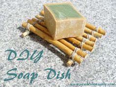 DIY Soap Dish With Twigs – Tutorial | Sew historically