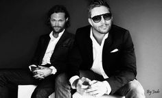 I just... uh... gah... (Jensen and Jared)