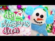DIY Christmas Decorations | Easy DIY Holiday Room Decor - YouTube
