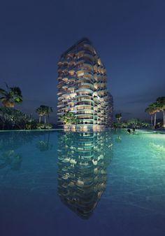 Zaha Hadid Architects plans residences in tropical setting near Cancún