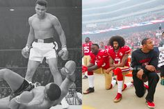 NFL and NBA players are reviving a rich tradition of activism in sports.