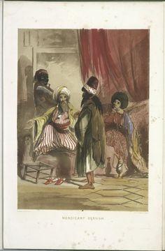 A Mendicant Dervish (1854), NYPL Digital Collection