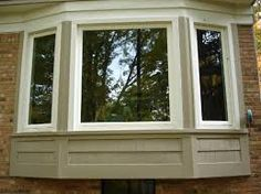 Image result for bay window designs for homesbay window siding options   beautiful vinyl bay window from Sun  . Exterior Windows Design Home. Home Design Ideas