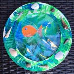 Paper Plate Porthole Fish Craft for Kids