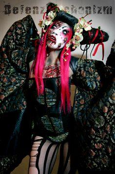 Defenz Mechanizm Zombie Geisha