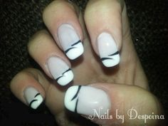 French manicure Manicure, Nails, French, Beauty, Nail Bar, Finger Nails, Ongles, French People, Nail Manicure