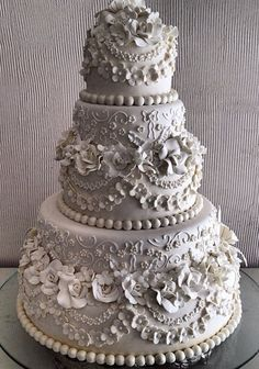 Vintage Tiered Cake