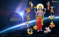 Vishnu Dashavtar Wallpapers HD Size Free Download