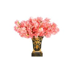 8 Must-Have Vases ❤ liked on Polyvore featuring flowers, fillers, pink, decor and floral