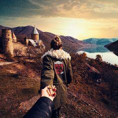 139. #FollowMeTo the amazing Georgia. (the photo series by Russian Photographer, Murad Osmann)