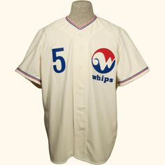 Winnipeg Whips 1970 Home jersey from ebbets.com