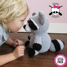 #ForeverStitchin: The Pattern Pack *Special Offer* Ends Soon! #crochet #raccoon #thepatternpack
