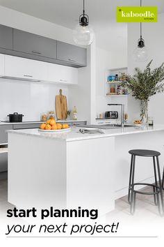Kitchen Room Design, Modern Kitchen Design, Kitchen Tiles, Kitchen Layout, Home Decor Kitchen, Interior Design Kitchen, Home Kitchens, Room Interior, Updated Kitchen