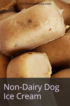 Non-dairy dog ice cream is an easy, 2 ingredient frozen treat to give your dogs instead of regular ice cream.